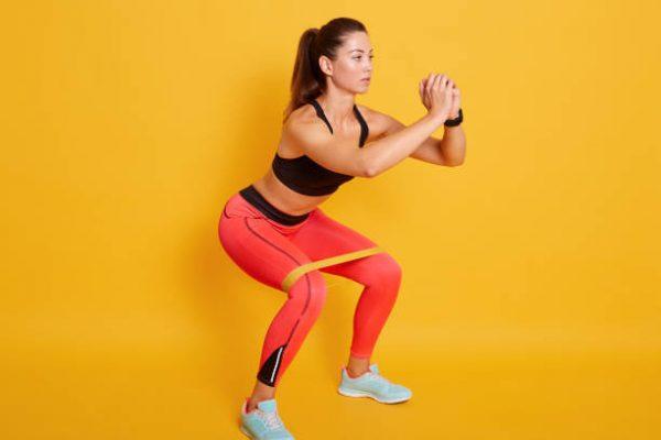 Accesorios para poder entrenar en casa banda elastica