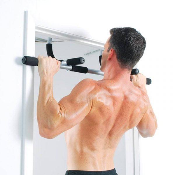 Accesorios para poder entrenar en casa barra puertas