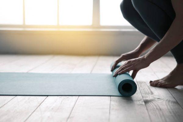 Accesorios para poder entrenar en casa esterilla