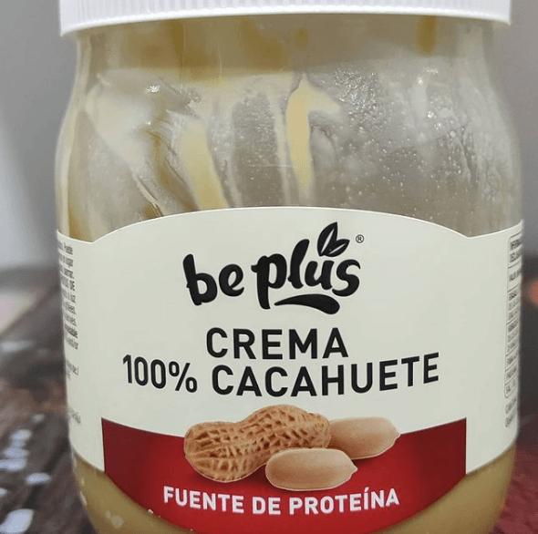 Crema de Cacahuete: beneficios, inconvenientes, valor nutricional y recetas fitness bote