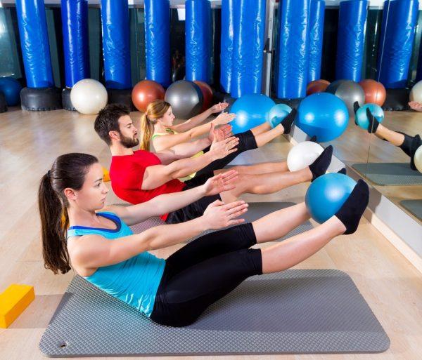 Ejercicios de pilates para abdomen cientos