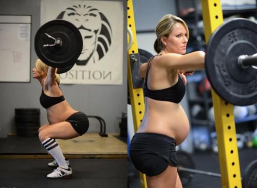 ejercicios-durante-el-embarazo-pesas