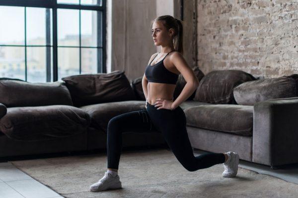 ¿Qué ejercicios puedo hacer si tengo tendinitis rotuliana? Zancadas