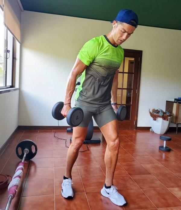 La rutina de ejercicios de cristiano ronaldo para estar en forma a los 36 anos 2