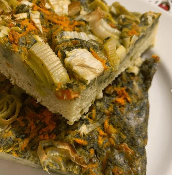 Las mejores recetas fitness sin carne Pastel de Verduras