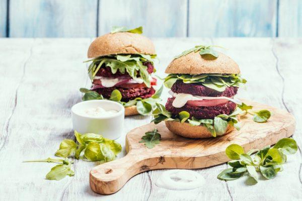Las mejores recetas para perder peso sin pasar hambre burger vegana