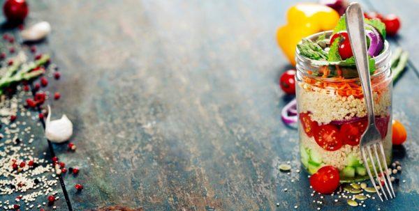 Las mejores recetas para perder peso sin pasar hambre ensalada