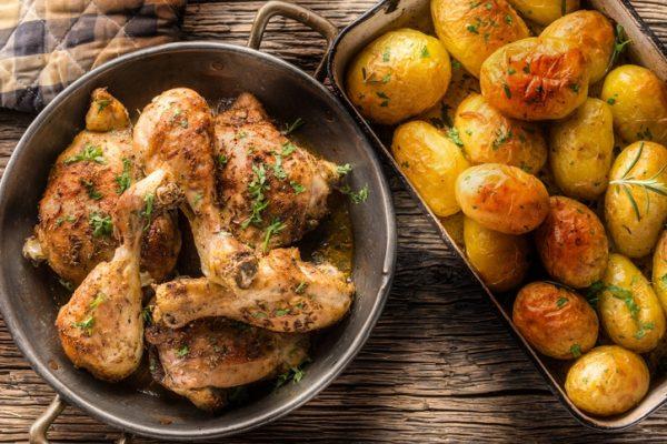 Las mejores recetas para perder peso sin pasar hambre pollo horno