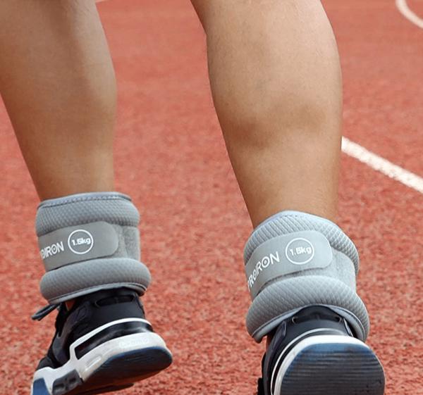 Los mejores accesorios fitness para hacer deporte en la playa o en la montaña tobillera lastrada