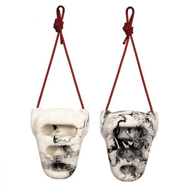 Los mejores accesorios para entrenar la escalada Agarraderas o Rock Rings