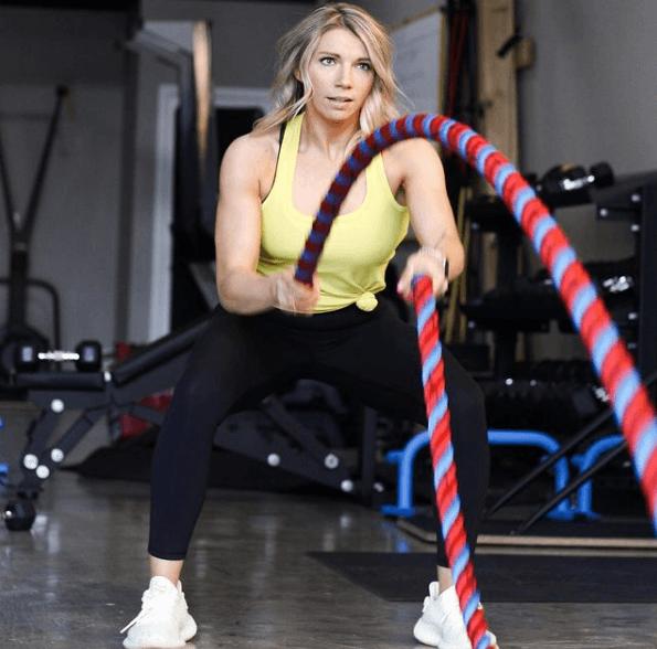 10 mejores ejercicios multiarticulares para adelgazar Battle Ropes