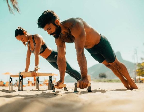 10 mejores ejercicios multiarticulares para adelgazar flexiones