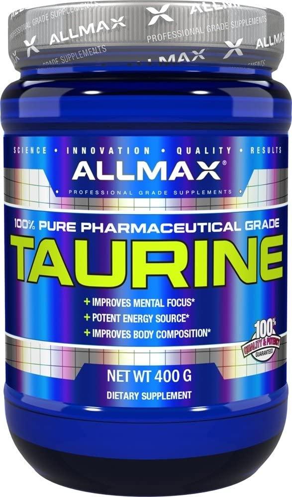 Mejores suplementos de taurina allmax