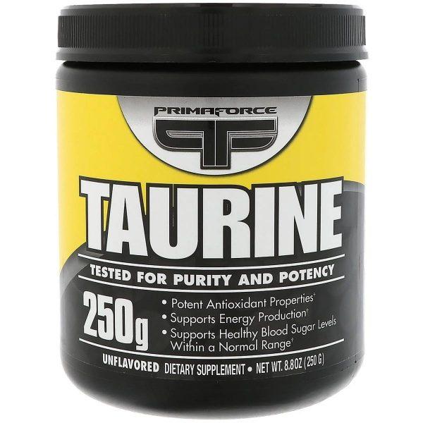 Mejores suplementos de taurina primarforce