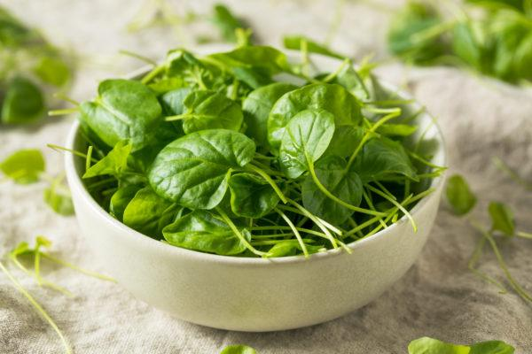 Mejores verduras frutas para ganar masa muscular berros