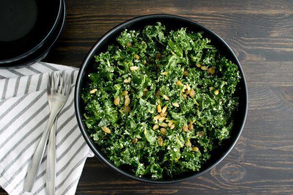 Mejores verduras frutas para ganar masa muscular col rizada