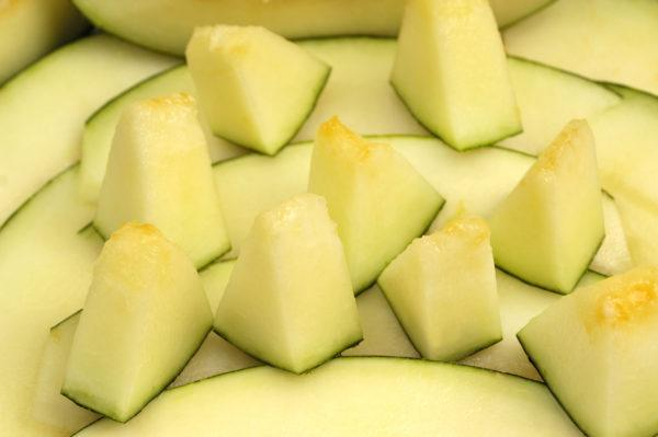 Mejores verduras frutas para ganar masa muscular melon