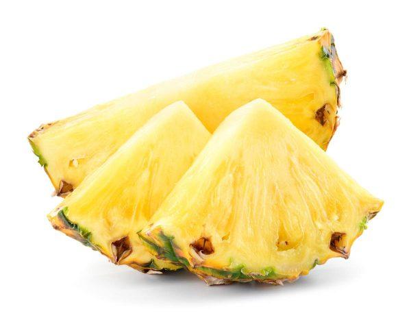 Mejores verduras frutas para ganar masa muscular piña
