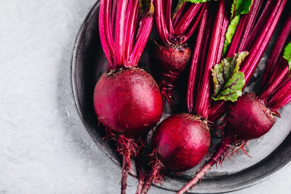 Mejores verduras frutas para ganar masa muscular remolach a