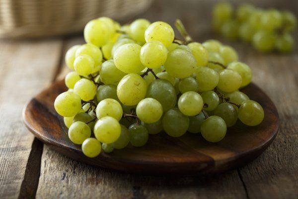 Mejores verduras frutas para ganar masa muscular uvas