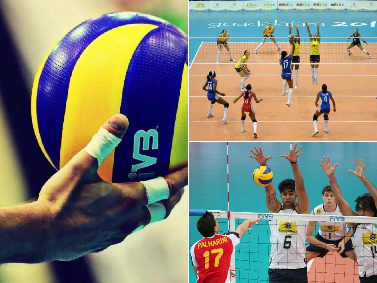 las posiciones del voleibol