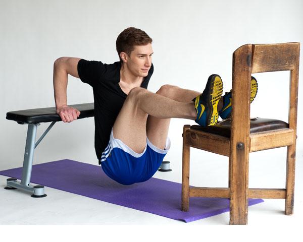 Triceps Dips ejercicio rutina