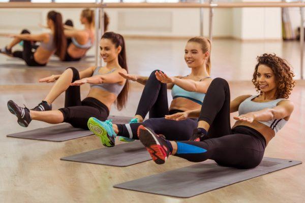 Ejercicios de pilates para abdomen abdominales