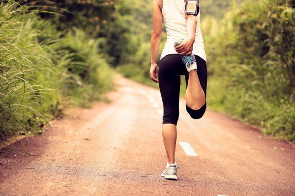 Estiramientos para todo el cuerpo para piernas cuadriceps