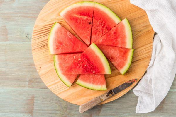 Los 15 alimentos con los que sacaras abdominales sandia