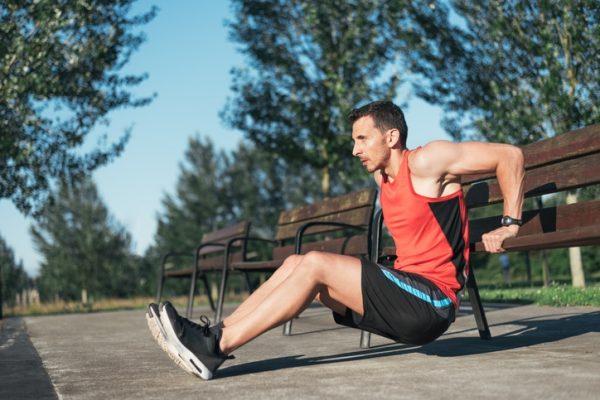 Los mejores ejercicios para los grupos musculares triceps