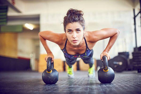 Tres ejercicios de fuerza